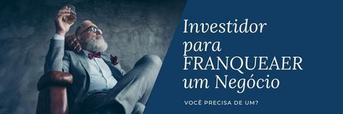 Você precisa de um investidor para franquear?